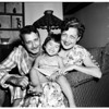 Busho family adopts Japanese orphan, 1958