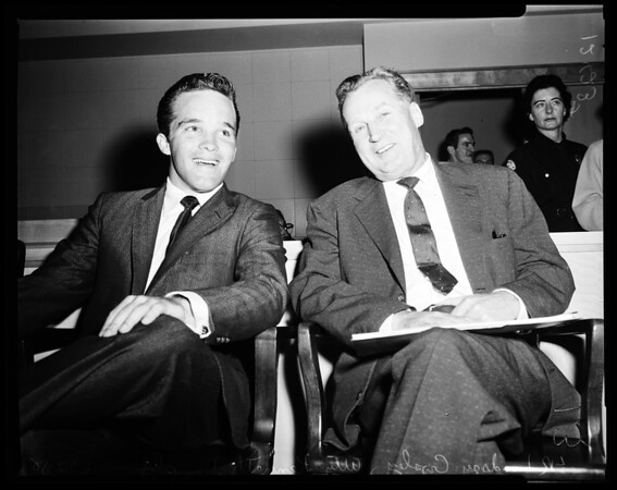 Crosby arraignment, 1958