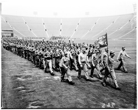 Marines for Shrine Show, 1958