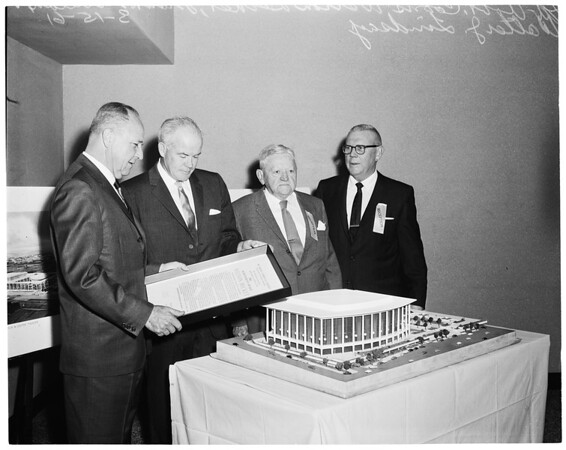 Chamber of Commerce Gridiron Banquet at Palladium, 1961