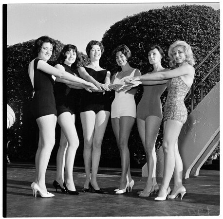 """Miss Beverly Hills"" Beauty Pageant, 1961"