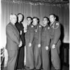 Americanism Dinner -- Allied Post Legion at Ambassador, 1958