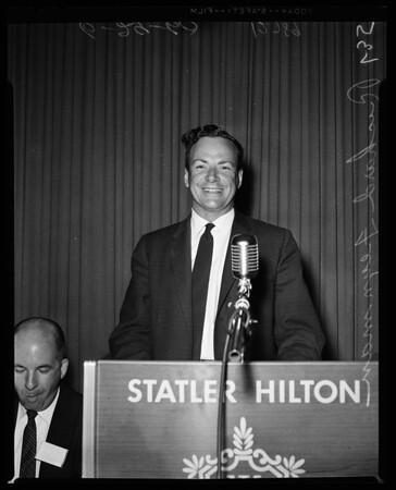 National Education Association convention, Science teacher, 1960