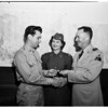 """""""13th Armored Division Recruit of Year"""" award (Fort MacArthur), 1951"""