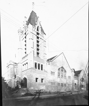 The New First Christian Church in Pasadena