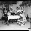 Latin American ball contestants, 1957