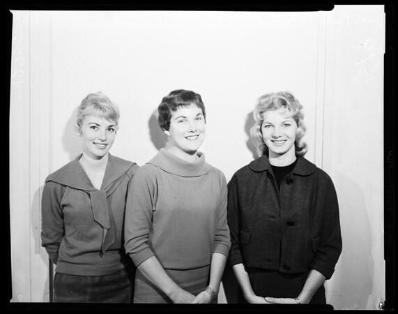 Fullerton Junior College Queen, 1960