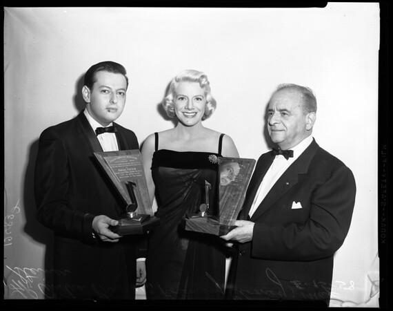 First Award Screen Composer's Association, 1958