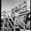 "USS ""Clymer"" Marines return, 1955"