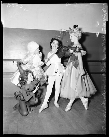 Burbank Symphony Annual Xmas Program, 1957