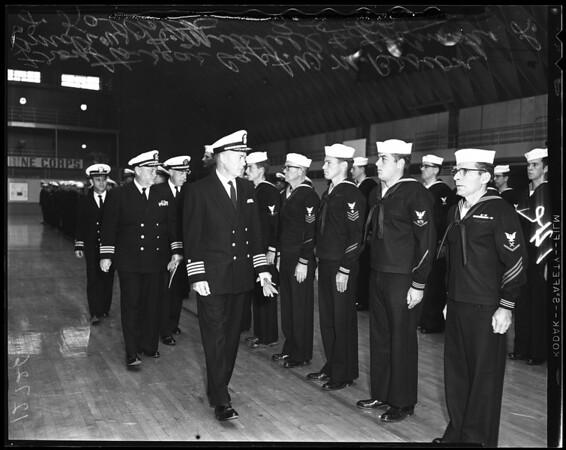 Seabee Battallion, 1960