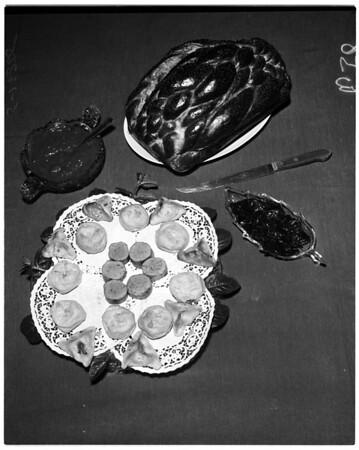 Purim festival, 1958