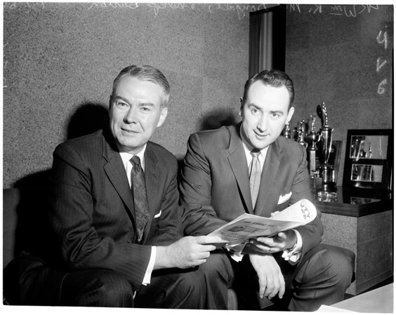 Child welfare meeting, 1960.