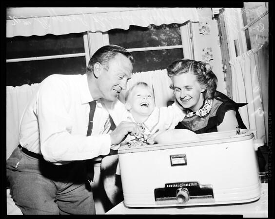 Regains sight (Thanksgiving), 1958