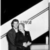 Enroute to Paris --- Los angeles International Airport, 1951