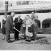 Barlow Sanitarium groundbreaking, 1961