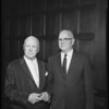 Testimonial dinner at Biltmore Bowl, 1960