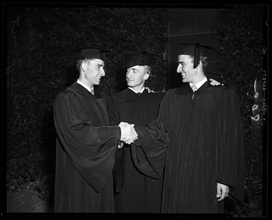 State College Commencement, 1952