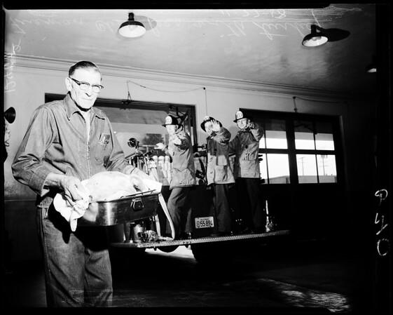 Firemen's Thanksgiving, 1958