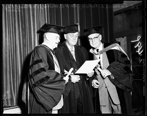 Osteopaths Founders Day, 1958