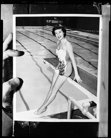 Beauty contestant, 1952