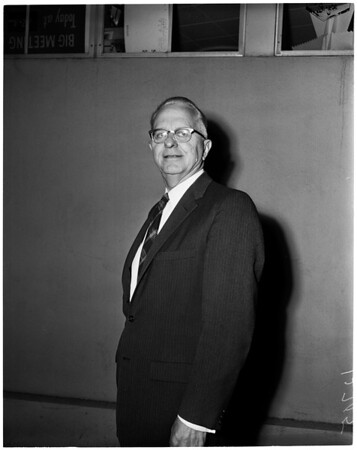New Tournament of Roses president, 1960