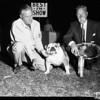 Dog show at Brookside Park, 1957