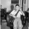 Found boy, 1957