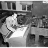 University of California Los Angeles computing machine, 1951