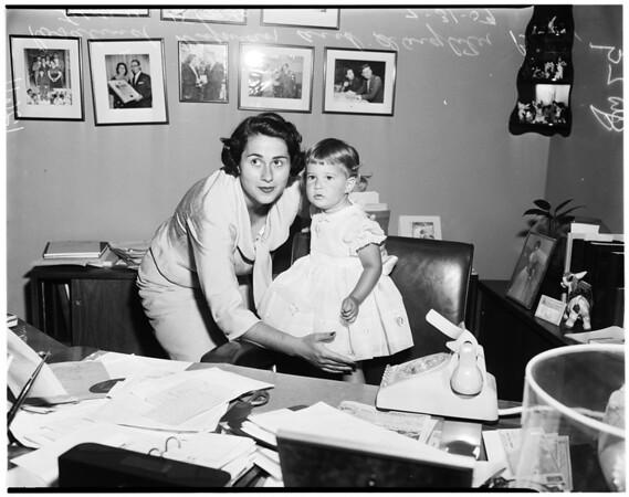 Councilwoman's daughter, 1959