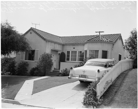 Greenwald murder (4020 Holly Knoll Drive), 1957