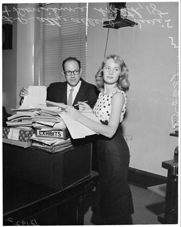 Tax deed trial, 1957