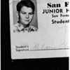 Sheldon Vaughn Elmore (Copy) missing San Fernando Junior High School Boy, 1957