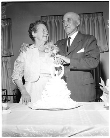 60th wedding anniversary, 1959