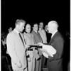 Veterans Administration Hospital patients graduate night school, 1952