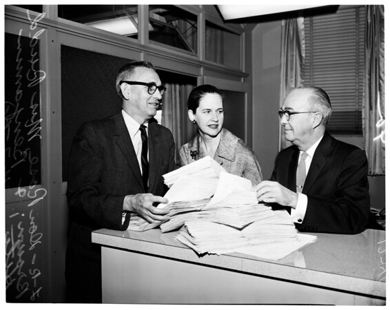 Brown petitions, 1960.