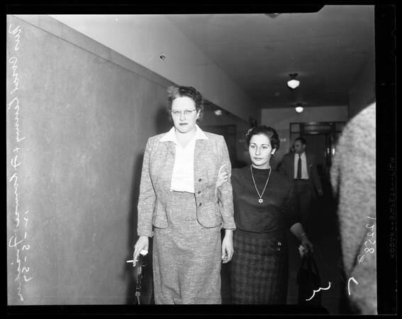 Identifies body at coroner's office, 1957