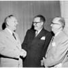 Bank of America executive honored, 1952