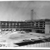 Beverly Hilton hotel under construction