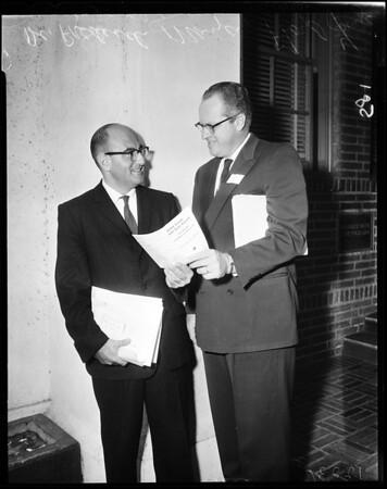 Junior college meeting, 1957
