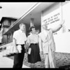 Dedication of new Occidental science Building, 1960
