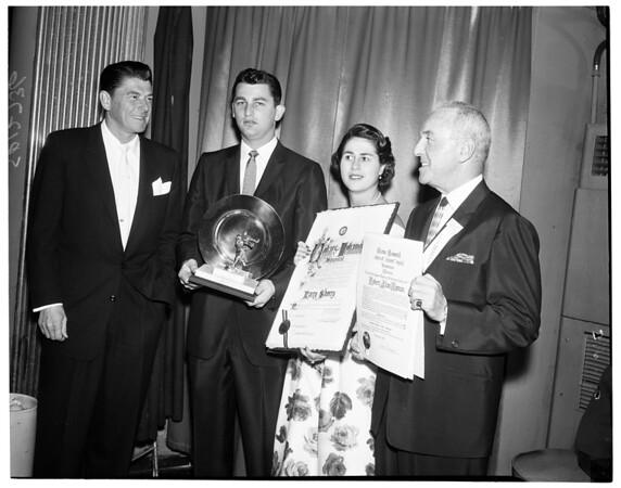 Cedars Men's Council Sports dinner, 1960