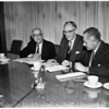 Influenza press conference, 1960