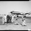 Thailand gets new planes from Lockheed, 1957