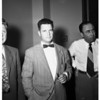 Gem robbery (confessed to robbery of diamonds at Biltmore Hotel, April 26th), 1952