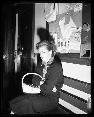Girl burglar, 1957