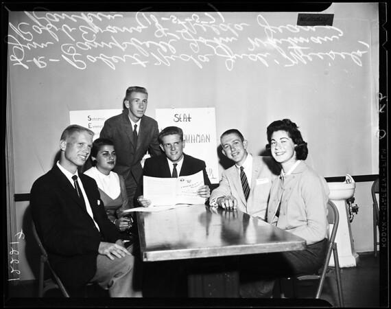 YMCA Model Legislature, 1957