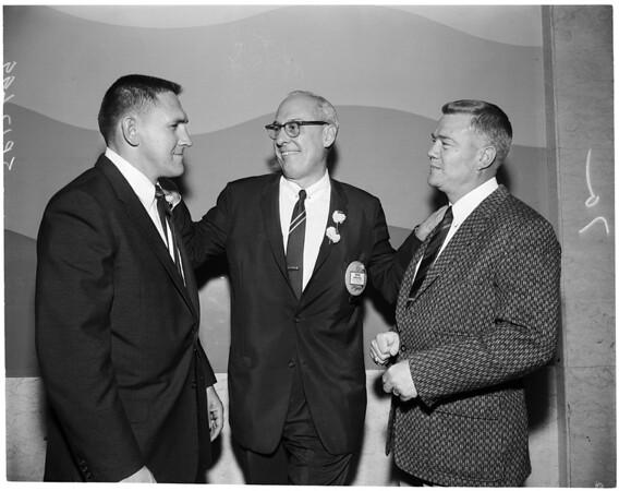 Football luncheon, 1959