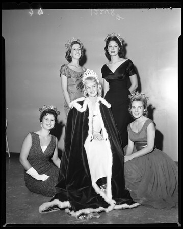 Santa Monica City College Homecoming Queen, 1957