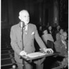 Alcoholic farm hearing, 1951